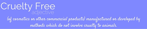 cruelty-freeadjective(of cosmetics or other commercial products) manufactured or developed by methods which do not involve cruelty to animals.